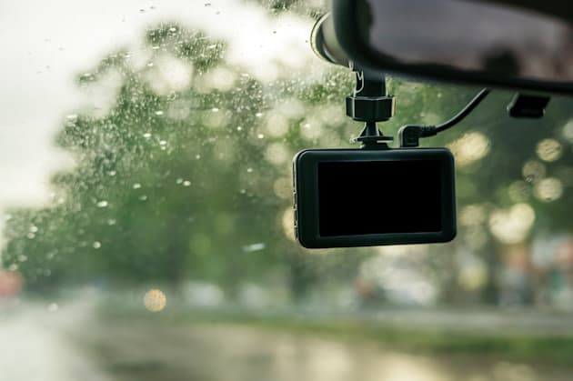 Car camera installed on a