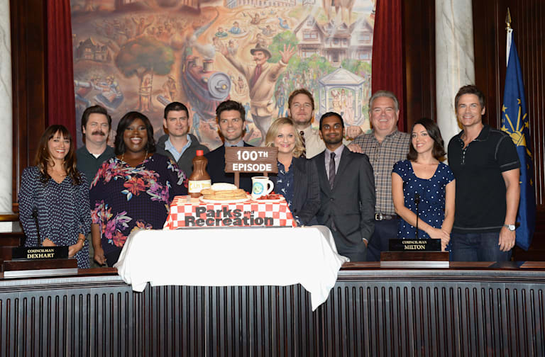 "NBC ""Parks And Recreation"" 100th Episode Celebration"
