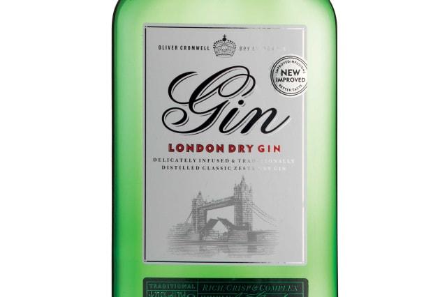 Aldi Oliver Cromwell Gin