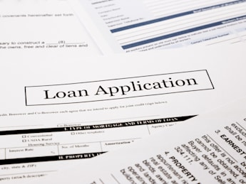 loan application form  business ...
