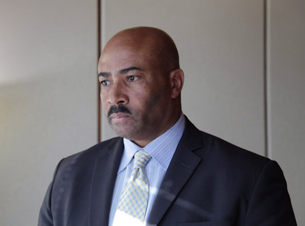 Former senator Don Meredith is seen during an interview in Toronto on March 16,