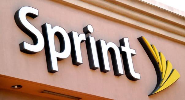 Sprint Corp. store sign in San Jose, California