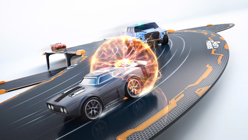 Anki Overdrive Fast and Furious rendering