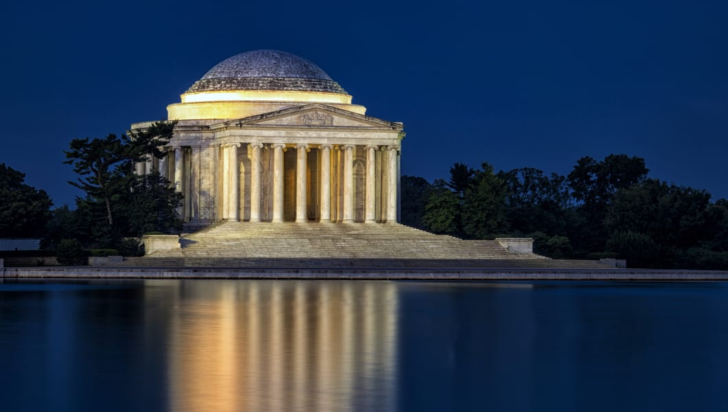 Jefferson Memorial at Twilight