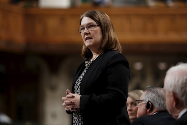 Health Minister Jane Philpott speaks during Question Period in the House of Commons on Parliament Hill...