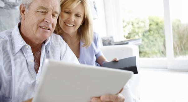 Sharing the digital tablet's wonders together