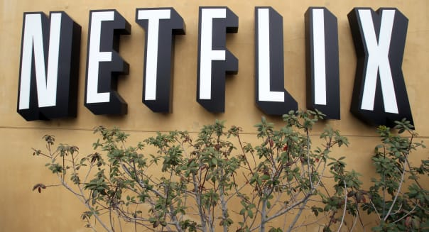 Earns Netflix (In this April 22, 2011 photo, the logo of Netflix is displayed at the headquarters in Los Gatos, Calif. Netflix I
