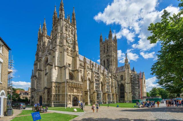 Canterbury Cathedral, Canterbury, Kent, England, UK