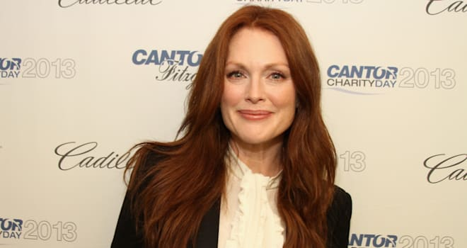 Julianne Moore at Cantor Fitzgerald and the BBC's 2013 Charity Day