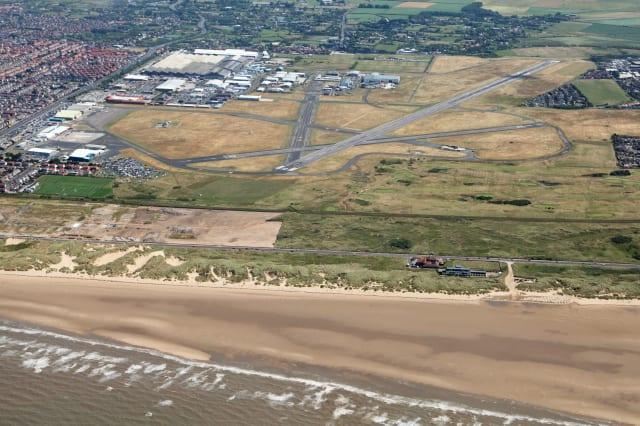 Missing pilot's plane found off Blackpool coastline