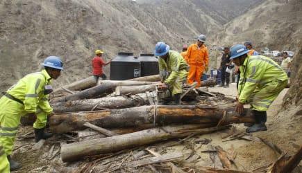 Peru Miners Trapped
