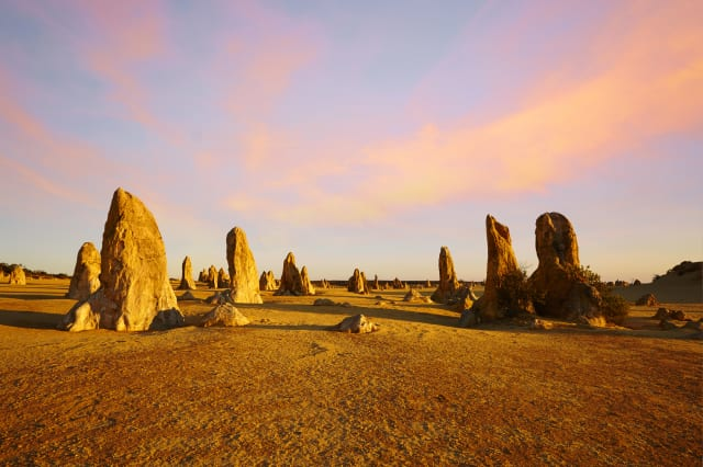 The Pinnacles Western Australia Sunset Composite