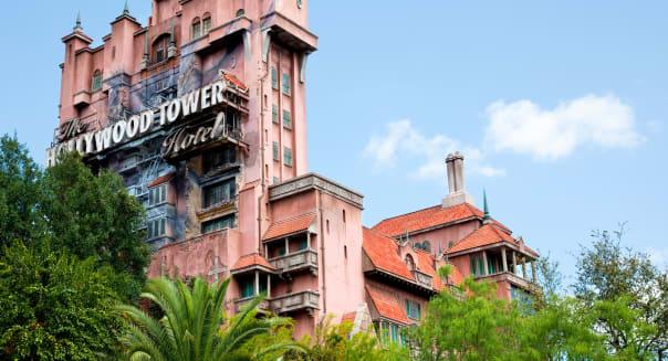 Hollywood Tower Hotel at Disney's Hollywood Studios.