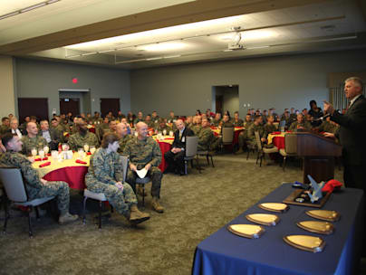 Northrop-Grumman hosts luncheon for VMAQ-4