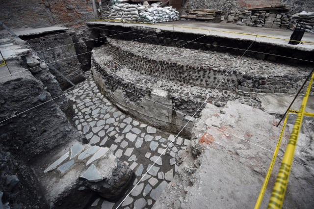 Ancient Aztec temple discovered in Mexico City