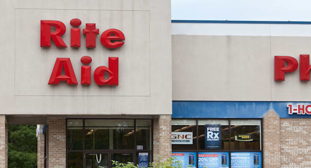 A Rite Aid pharmacy is pictured in Maine