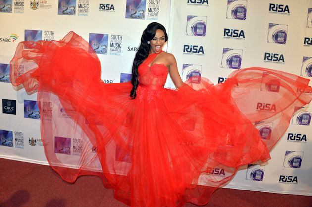 RUSTENBURG, SOUTH AFRICA MAY 27: (SOUTH AFRICA OUT): Bonang Matheba during the 23rd annual South African...