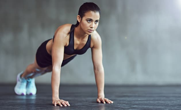 Being able to hold at the top of a push up for 5 minutes is another