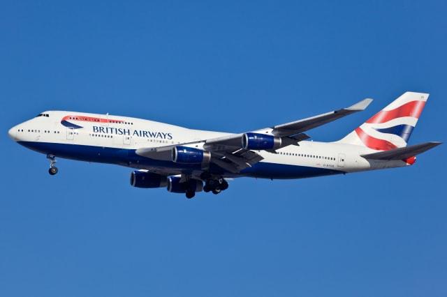 Boeing 747-400 British Airlines