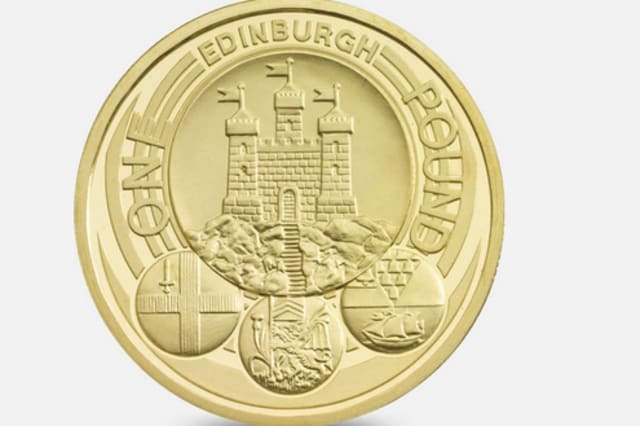 Edinburgh City £1 coin