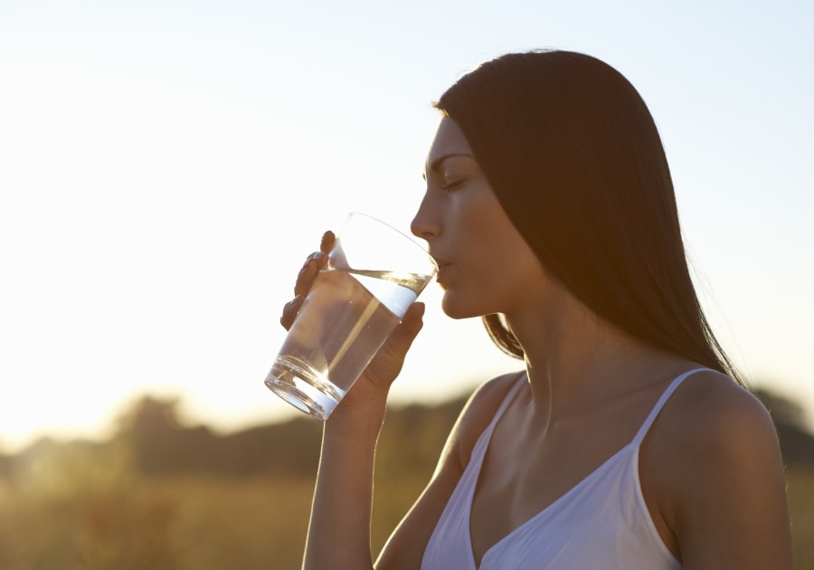 Drinking enough water can help to keep those pesky muscle cramps