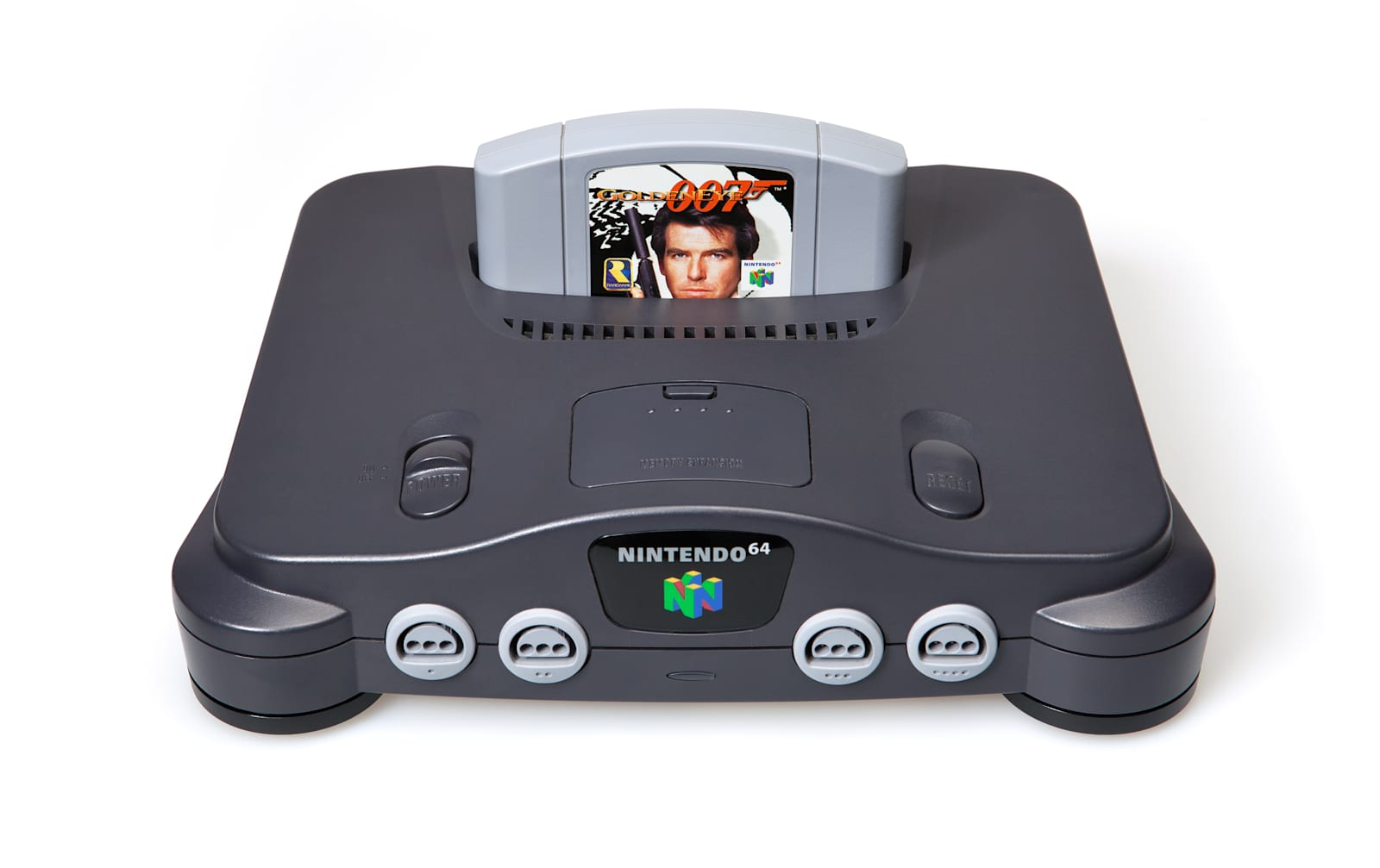 Nintendo N64 with Goldeneye 007 Game