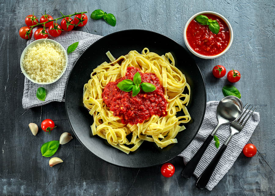 Stay tuned for easy ways to make supermarket pasta sauce more