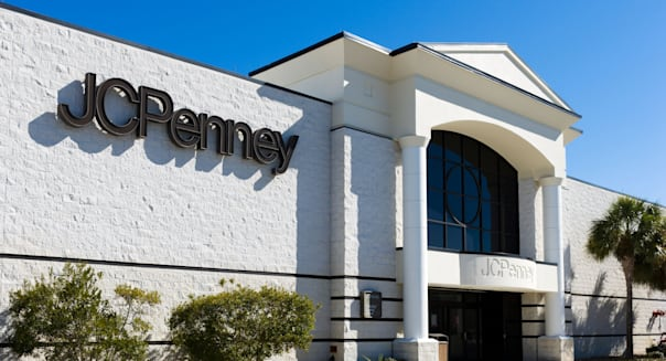 JCPenney store at the Eagle Ridge Mall, Lake Wales, Central Florida, USA