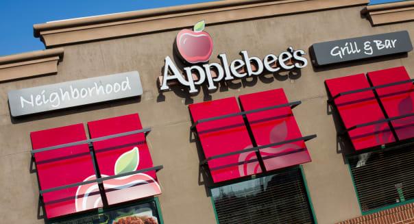 An Applebee's casual dining restaurant.