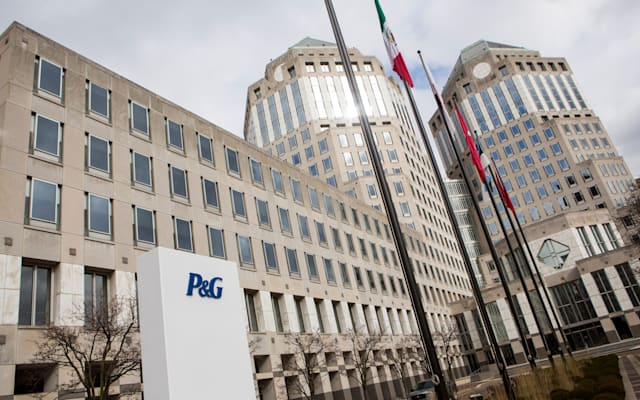 The headquarters of consumer products maker Procter & Gamble.