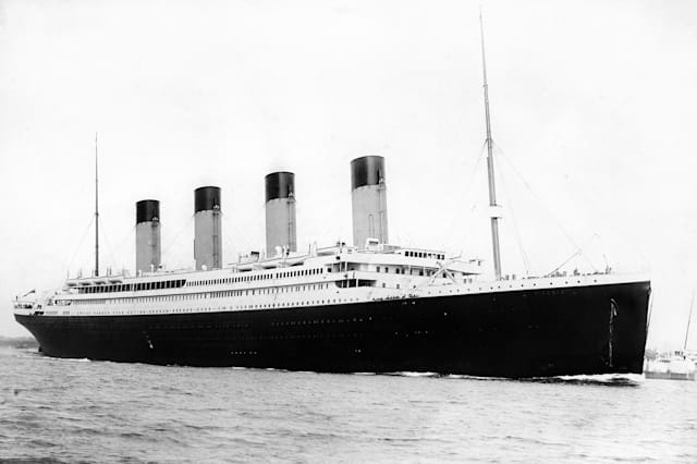 The Great Liners - Titanic