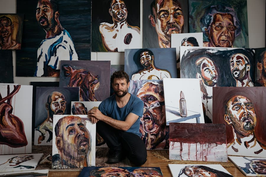 Sydney artist Ben Quilty was a close friend and mentor to the late