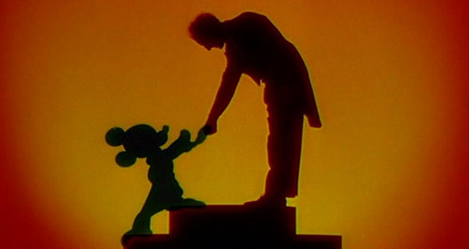 Mickey and Conductor