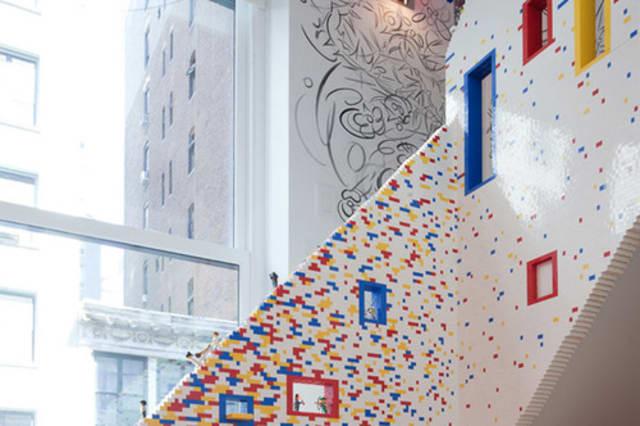 Lego bannister
