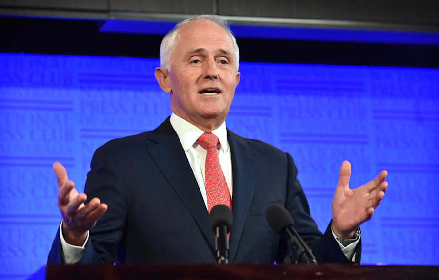 When asked about the gap between rich and poor in Australia, the Prime Minister preferred to reply with...