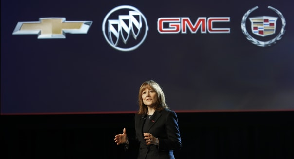 Auto Show GM Mary Barra