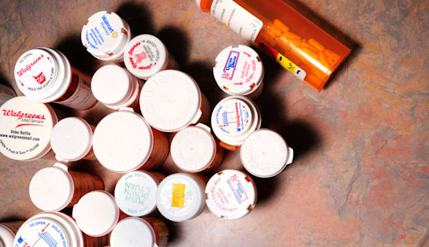 Prescription drugs and medications.