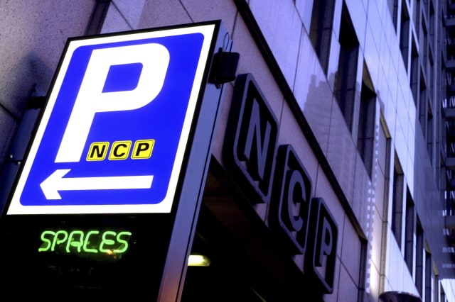 Picture shows an NCP car park in Barbican, Central London.