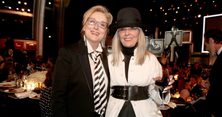 Meryl Streep and Diane Keaton