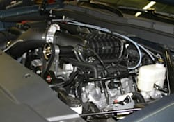 2014 Callaway Chevrolet Silverado engine