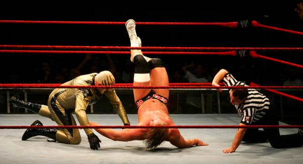 WWE wrestling in Milan