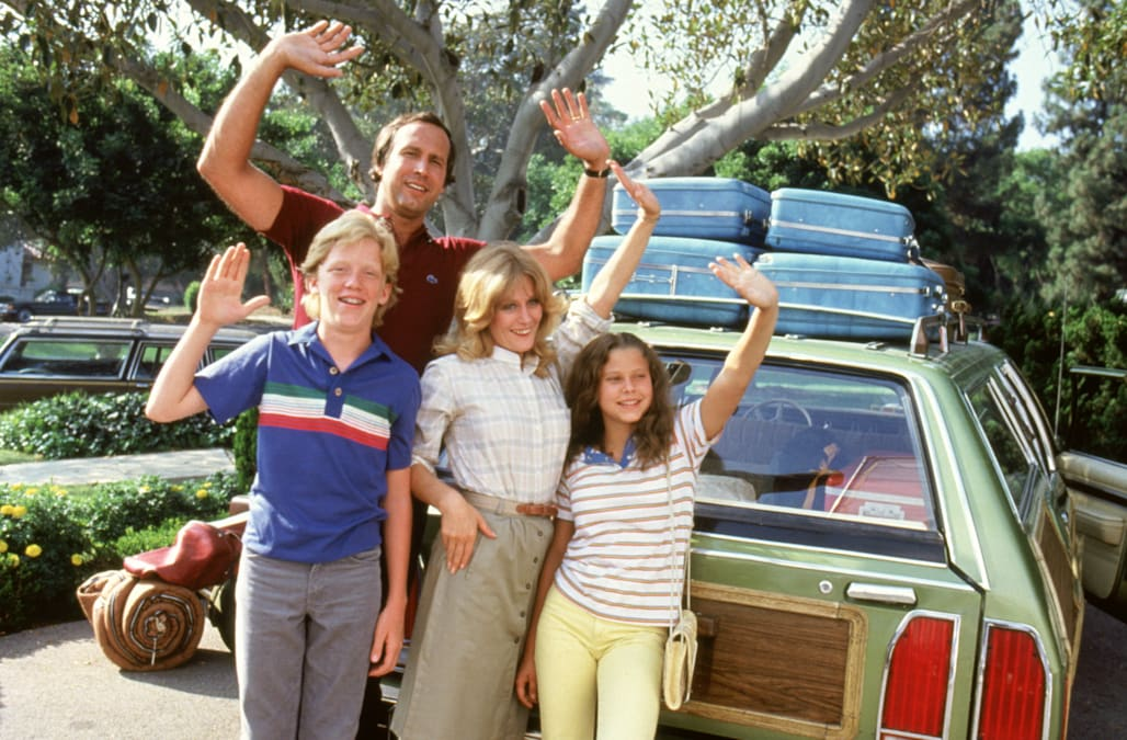 Audrey Griswold Christmas Vacation.Check Out What Russell And Audrey Griswold From Vacation