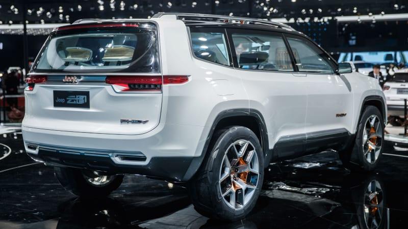 Jeep Yuntu PHEV concept