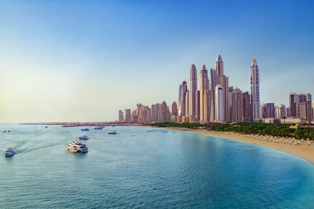 Dubai revealed as Brits' favourite holiday spot