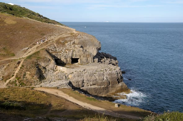 Tilly Whim Caves, Durlston, Swanage, Dorset England