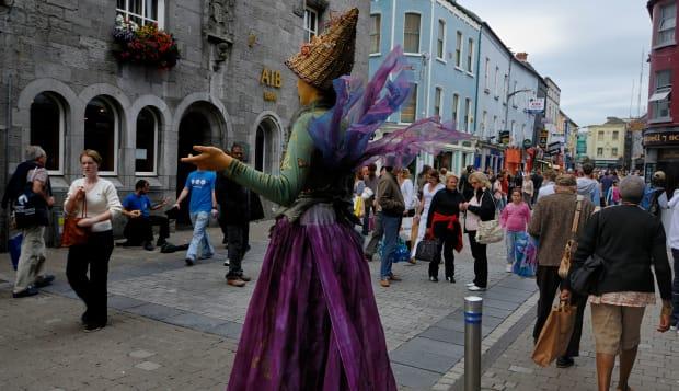 Street Performer, Galway City, Ireland