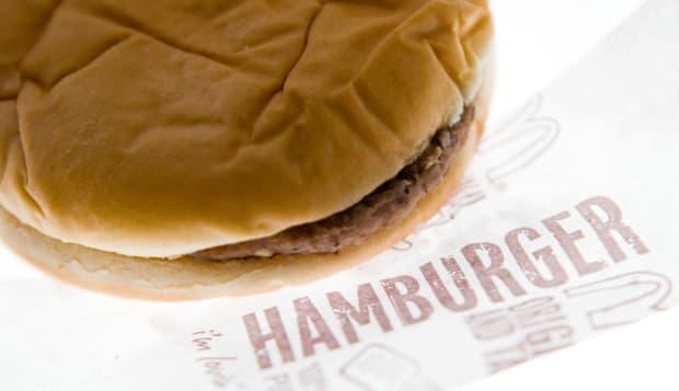 McDonald's hamburger.