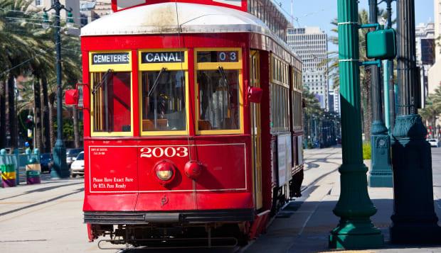 Streetcar in New Orleans, LA