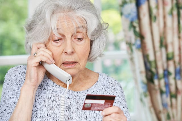 Telephone banking confusion