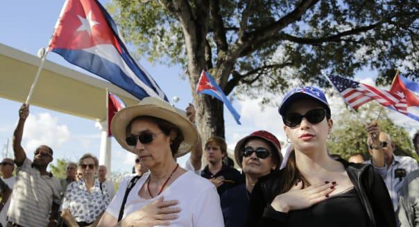 US Cuba Miami Protests